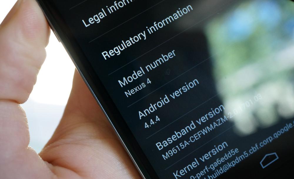 android 444 nexus 4