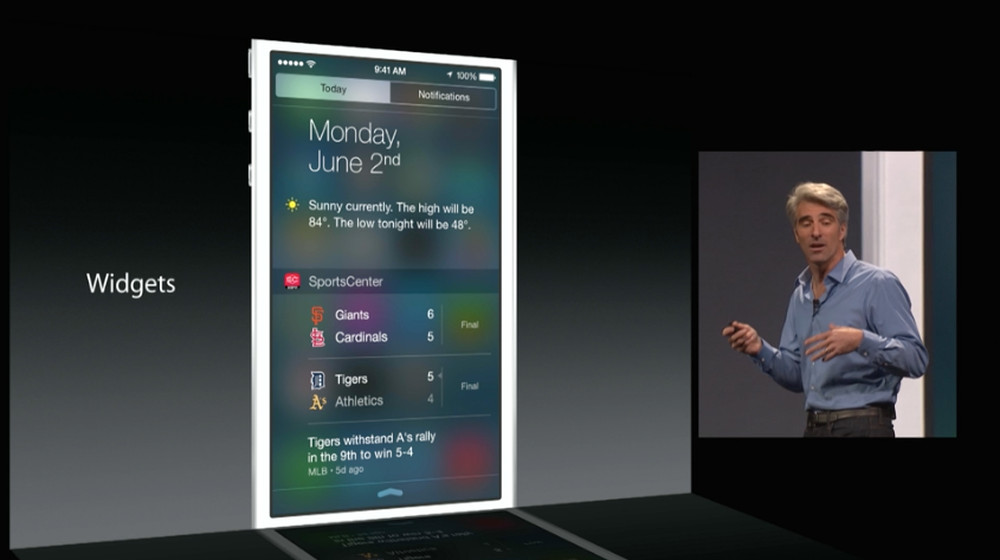 apple widgets