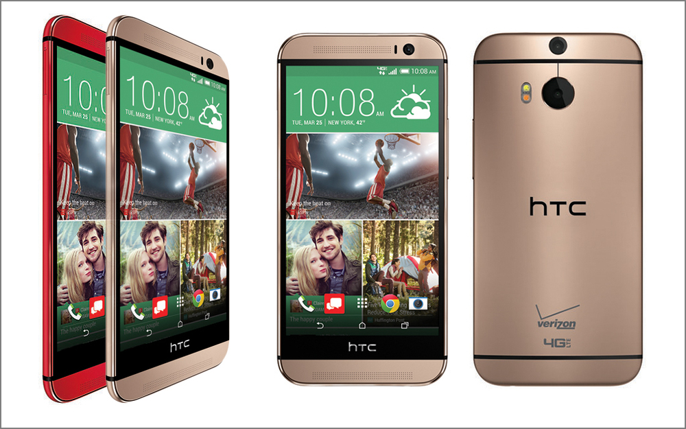 htc one m8 red gold