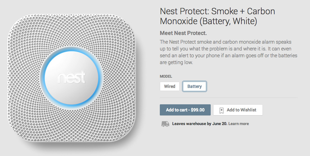 nest protect google play