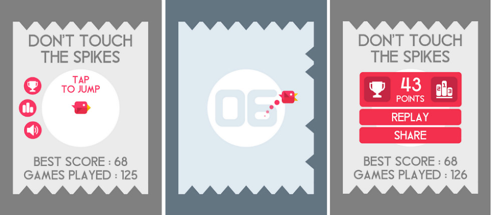 Don't Touch The Spikes – Another Game Reminiscent of Flappy