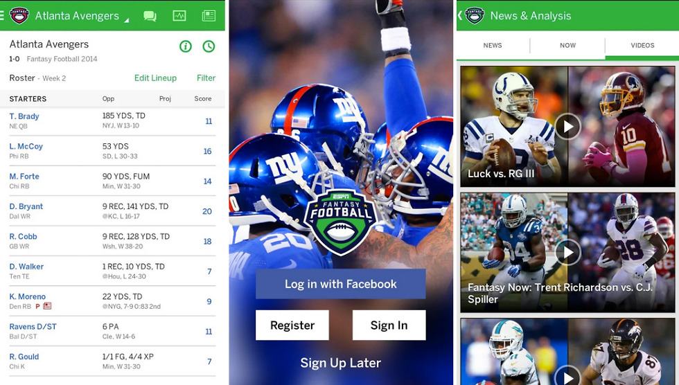 ESPN Fantasy Football App Receives Major Overhaul – Droid Life