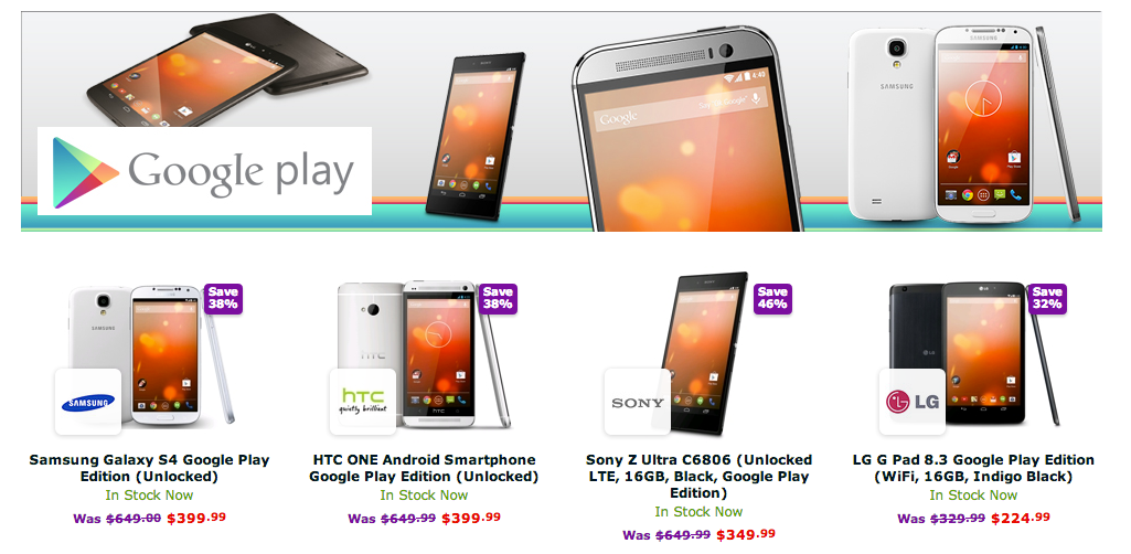 Google_Play_Edition_Devices-_Sony_Z_Ultra__HTC_One_M7__Samsung_Galaxy_S4____LG_G_Pad_8_3_-_Expansys_USA