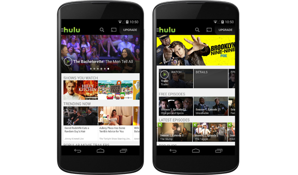 Hulu Plus Brings Free Content to Android Users in Latest App Update