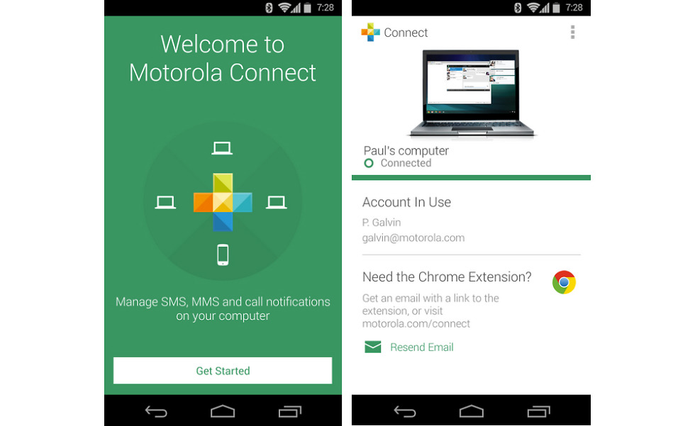 Motorola Connect App Updated In Google Play Brings New Look And Feel