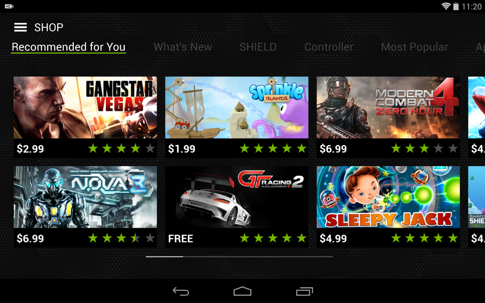 SHIELD Tablet Software – 9 – Droid Life