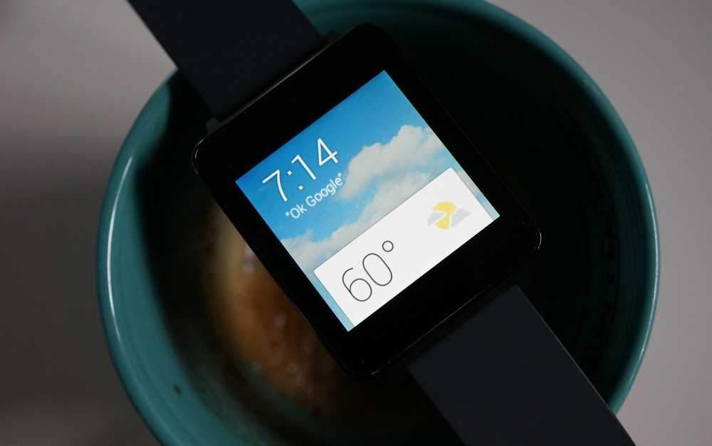android wear g watch