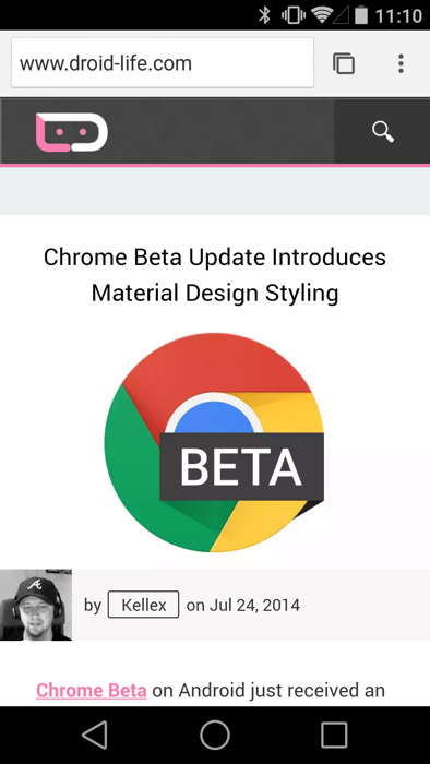 chrome beta1