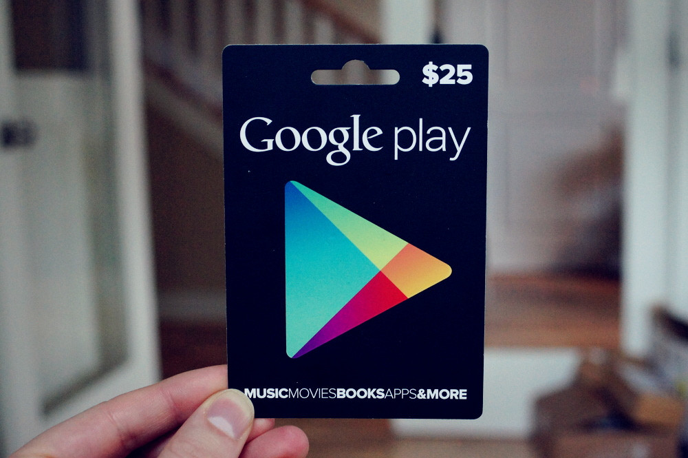 Google Play Gift Card Is Now in Denmark