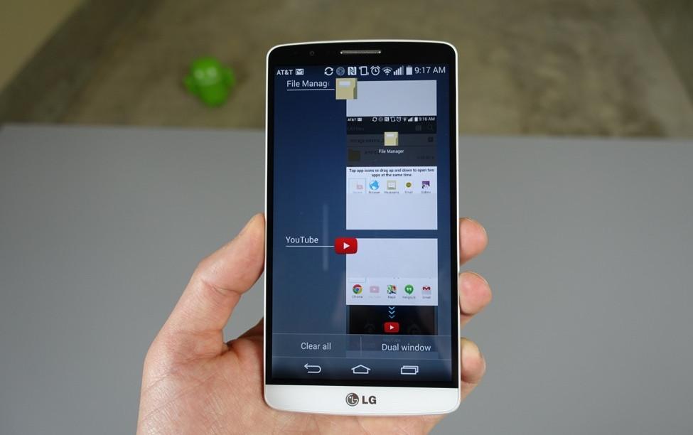 lg g3 app switcer