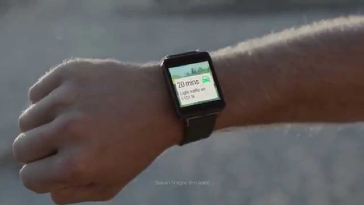 Android Wear: Surf's up at a glance