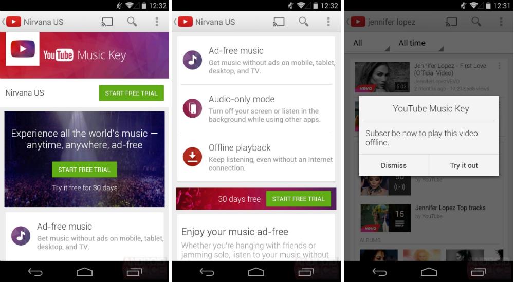Google Play Music Key