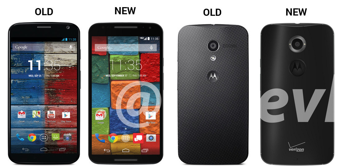 Images: Old Moto X vs. New Moto X+1 – Droid Life