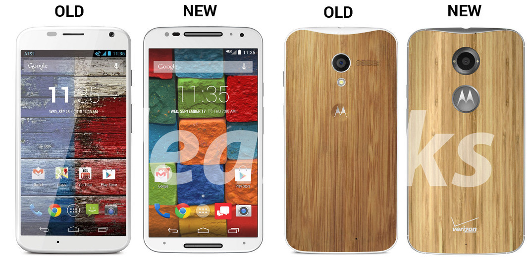 MOTO X OLD NEW WHITE