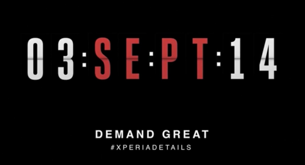Sony Teases #XperiaDetails Ahead of IFA Press Conference