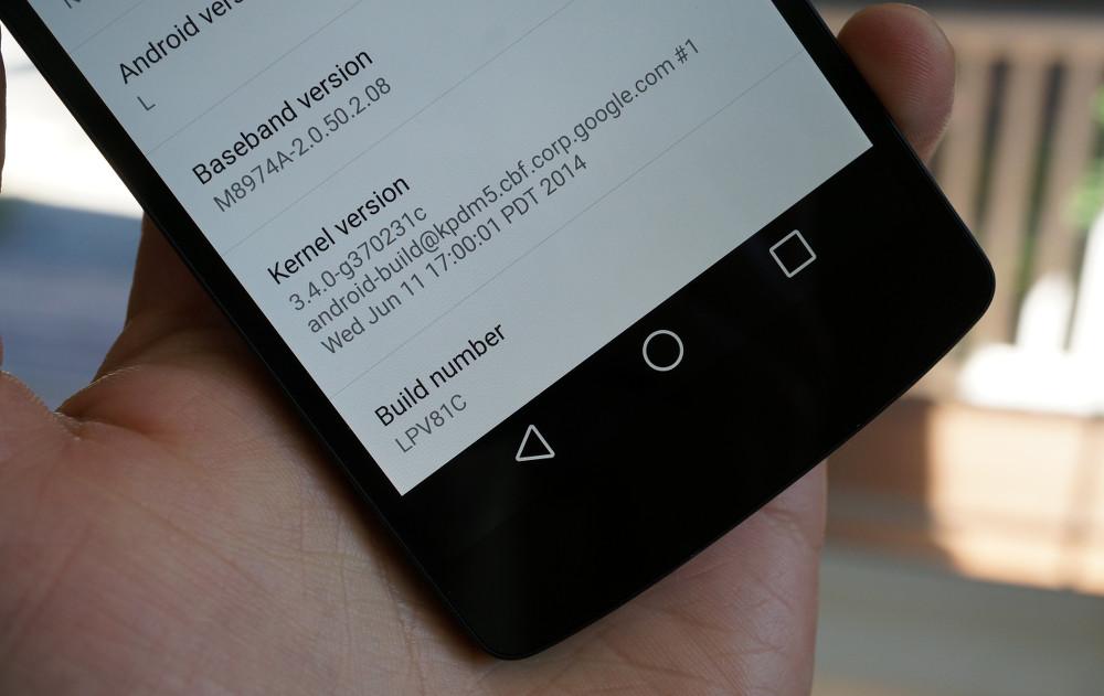 android L lpv81c