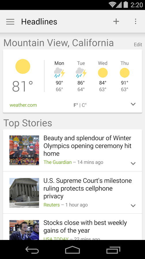 google news weather1