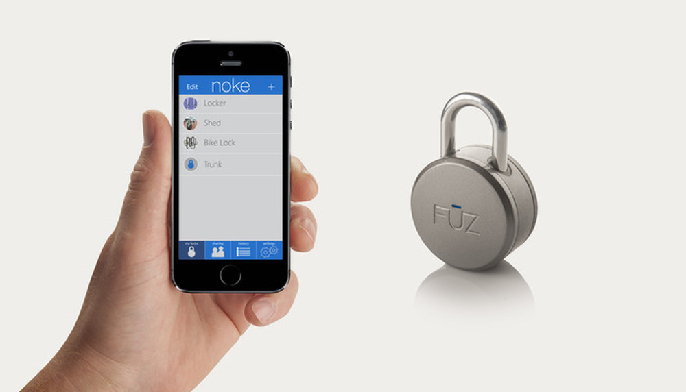 noke bluetooth lock