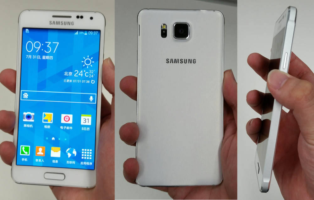 samsung galaxy alpha