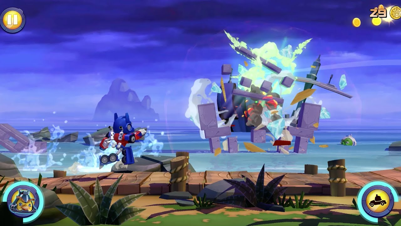 Angry Birds Transformers-Date and Gameplay Video