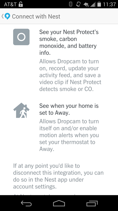 dropcam nest