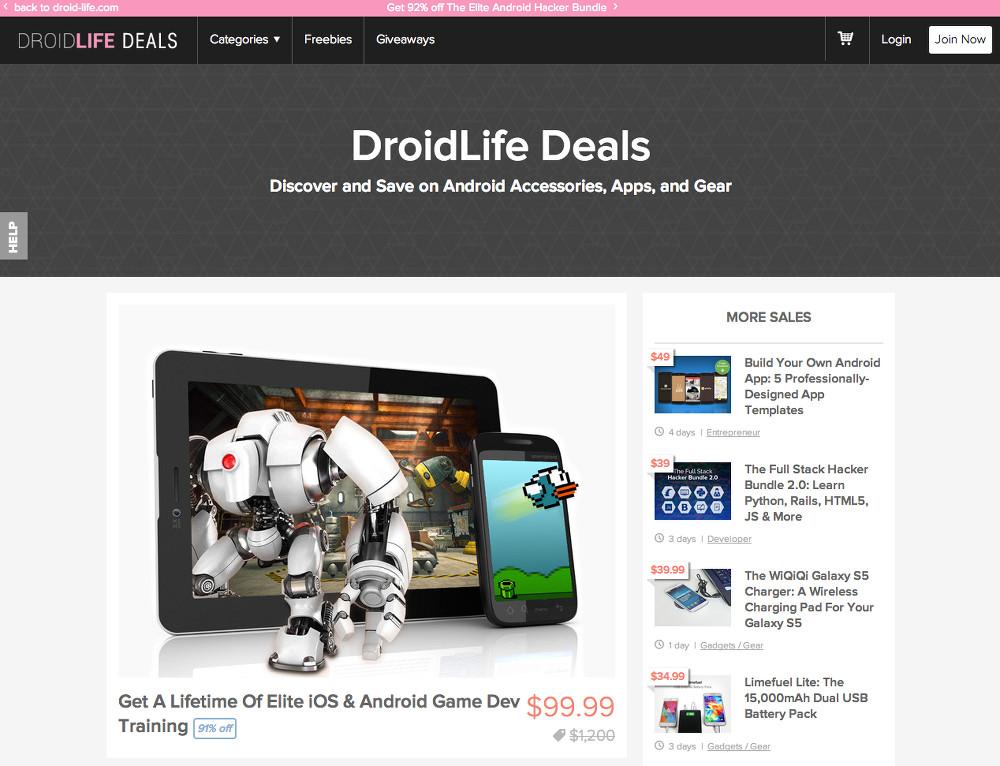 droidlife deals