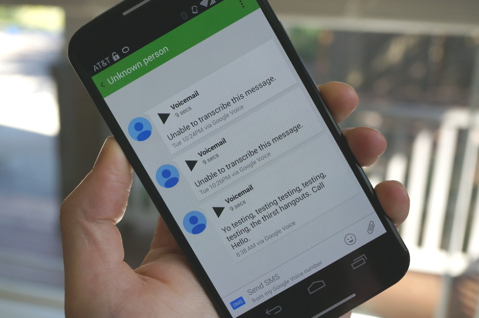 How to setup google voice voicemails in hangouts droid life m4hsunfo