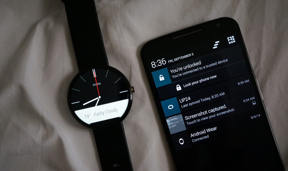 moto 360 trusted device