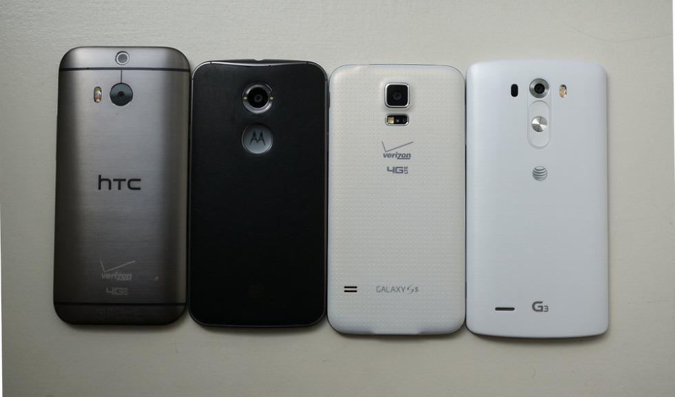 Chart Moto X Vs Lg G3 Galaxy S5