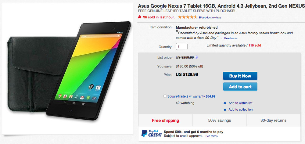 nexus7 deal