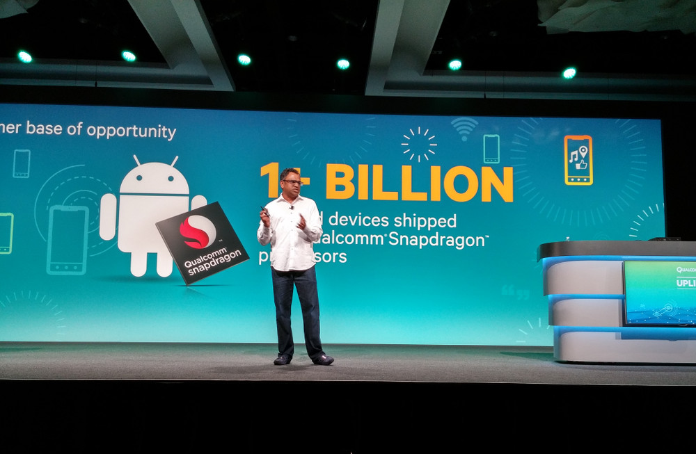 qualcomm 1 billion snapdragon