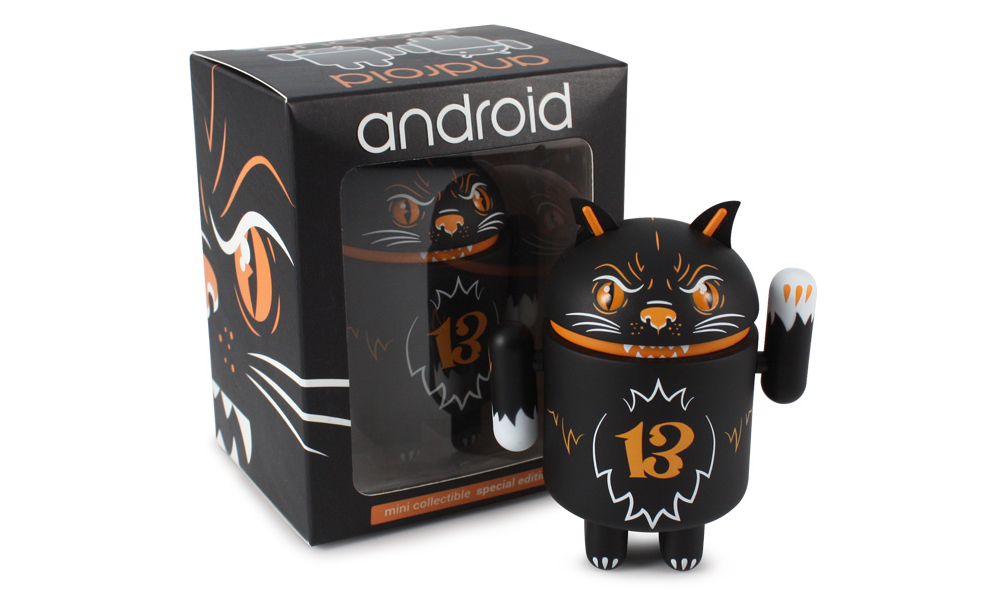 Android Halloween Figure