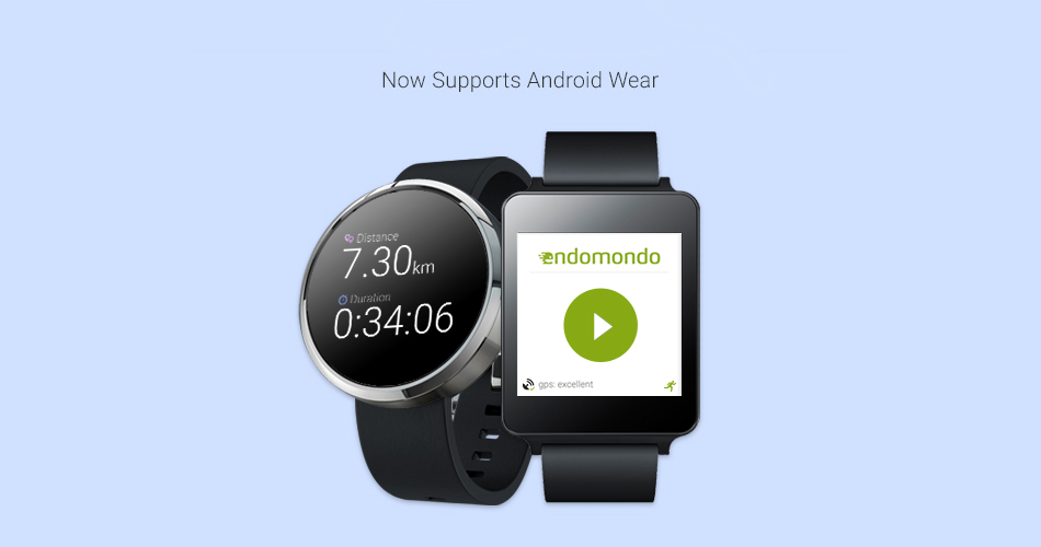 Endomondo Android Wear
