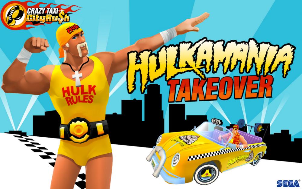 Hulkster Crazy Taxi