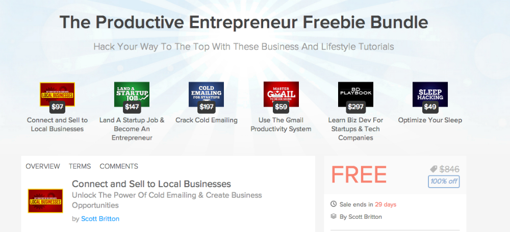 The_Productive_Entrepreneur_Freebie_Bundle___DroidLife_Deals