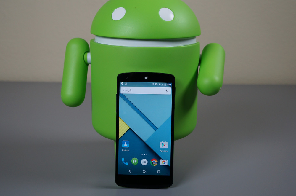 android 5.0 lollipop nexus5