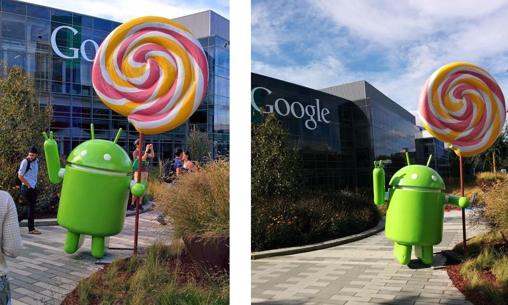 Lollipop Lawn Statue Unveiled at Googleplex