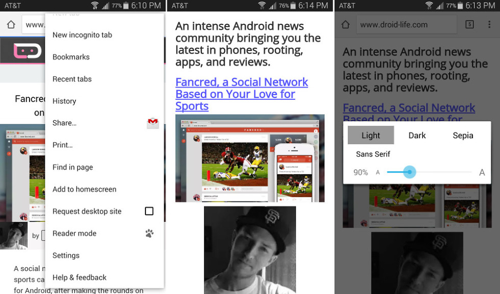 "Google is Dogfooding a ""Reader Mode"" in Chrome Beta 39"