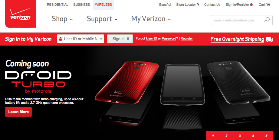 droid turbo verizon testman