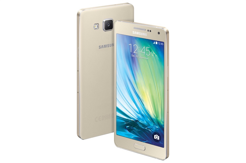 Samsung Galaxy A3: Metal Makeover with Samsung