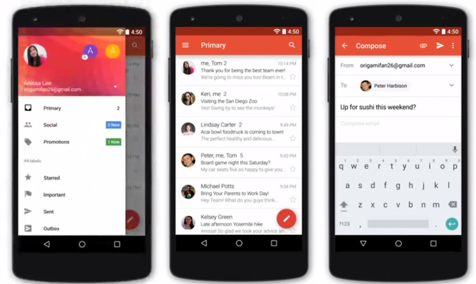 Gmail 5 0 Will Add 3rd Party Email Support, Including Yahoo