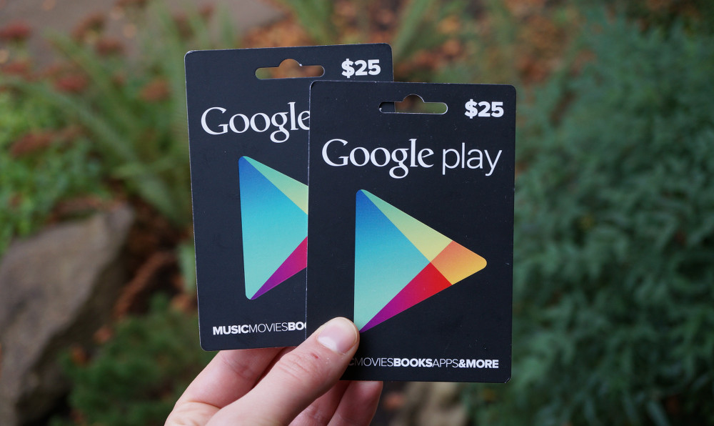 download google play gift card