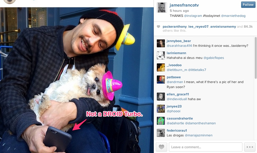 james franco turbo iphone