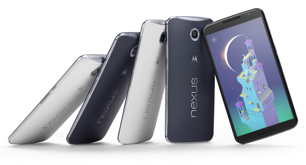 Comparison: Nexus 6 vs  iPhone 6 (and Plus), Moto X, Galaxy