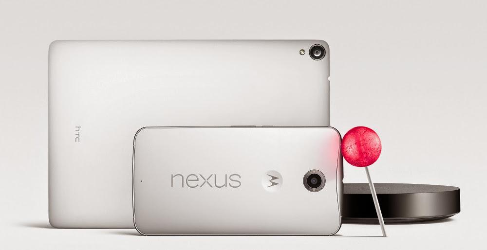 nexus family nexus 6 nexus 9 nexus player