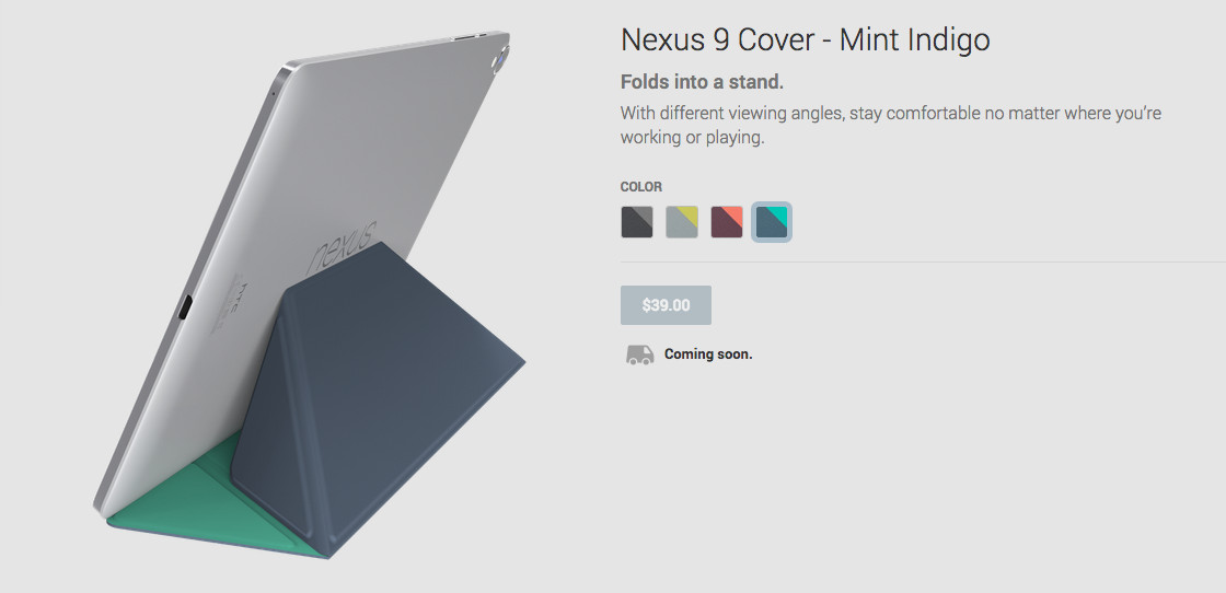 nxus 9 cover