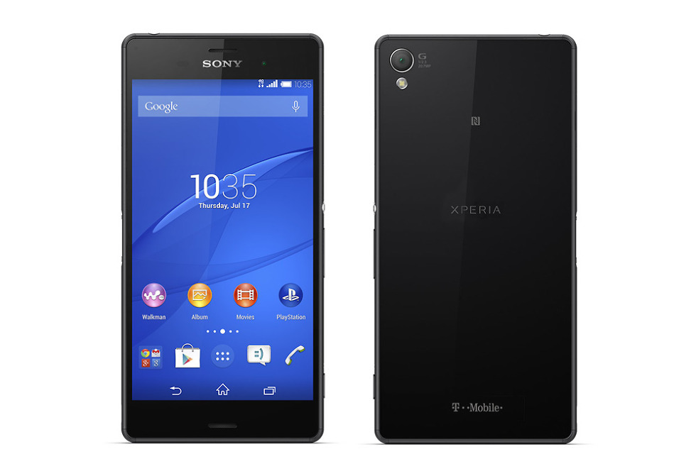 Sony Xperia Z3 Arrives at T-Mobile on October 29 – Droid Life