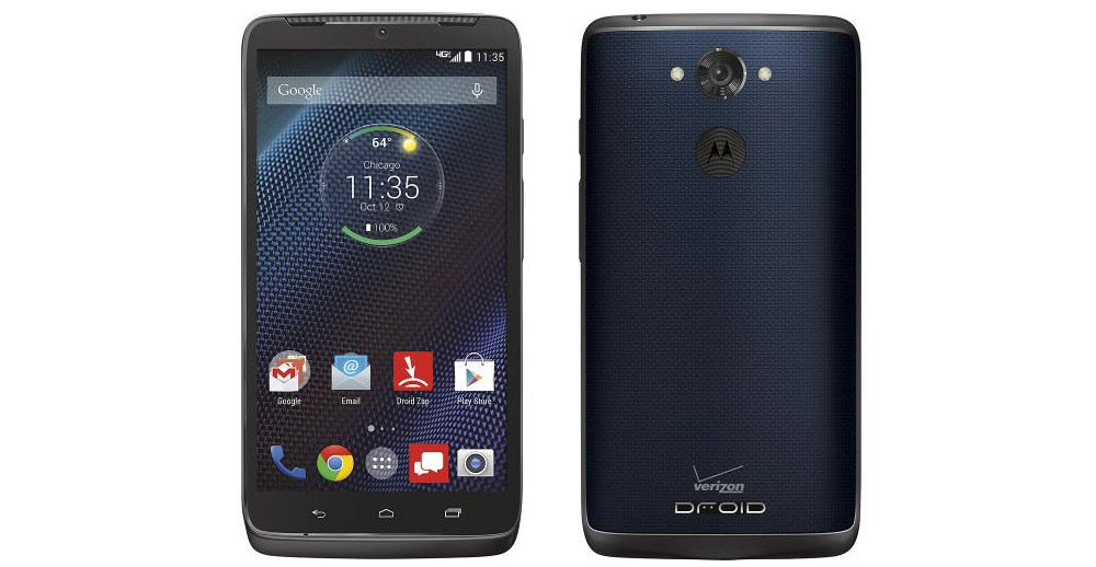 DROID Turbo Blue