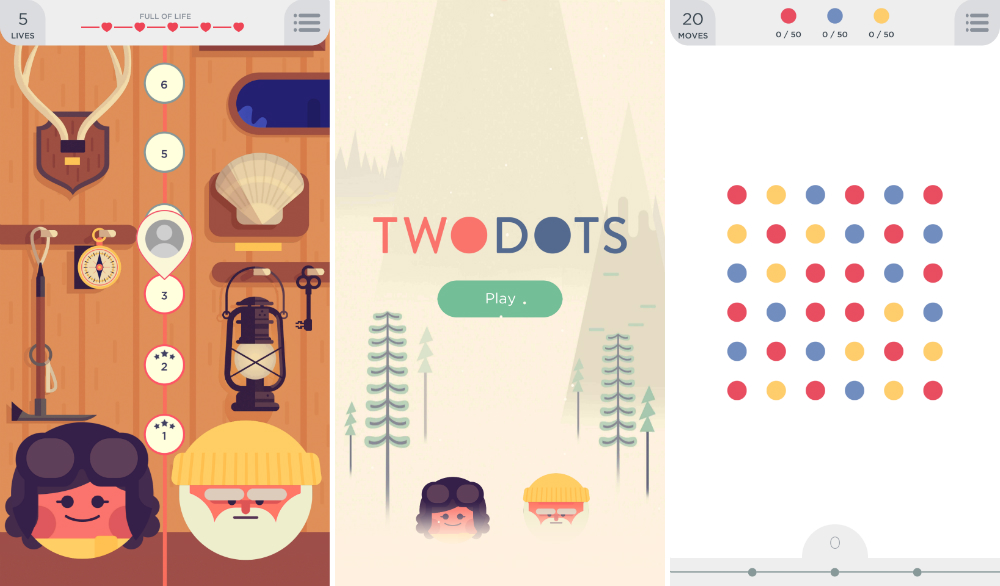 2 player dots