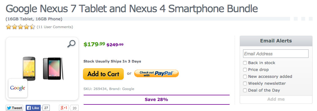 expansys crazy deal